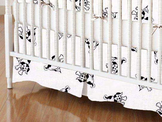Crib Skirt - Doggies