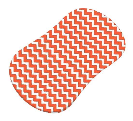 Orange Chevron Zigzag