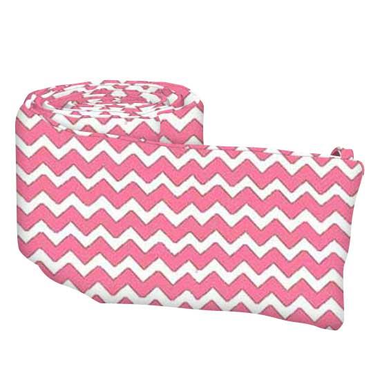 Bubble Gum Pink Chevron Zigzag
