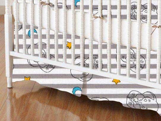 Crib Skirt - Dumbo