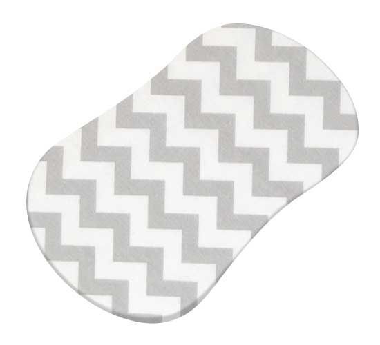 Grey Chevron Zigzag