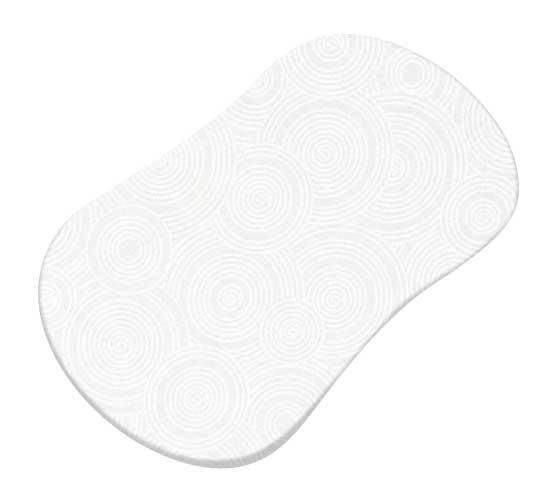 White On White Multi Circles