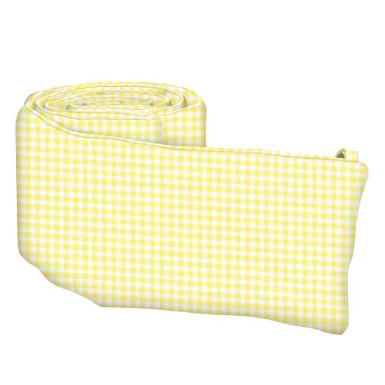 Pastel Yellow Gingham Woven