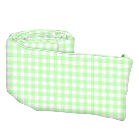 Pastel Green Gingham Woven