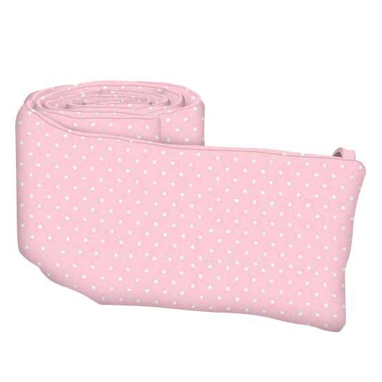 Pastel Pink Pindots Woven
