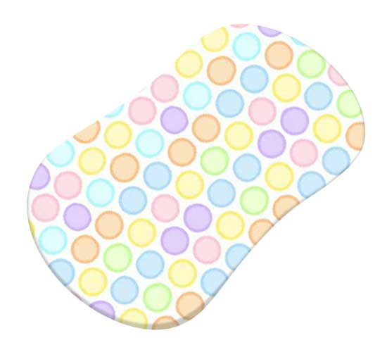 Pastel Colorful Bubbles Woven