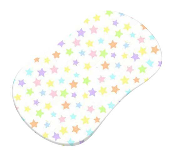 Pastel Colorful Stars Woven