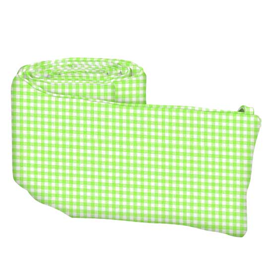 Primary Green Gingham Woven