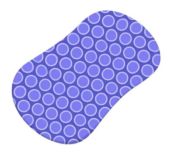 Primary Bubbles Blue Woven