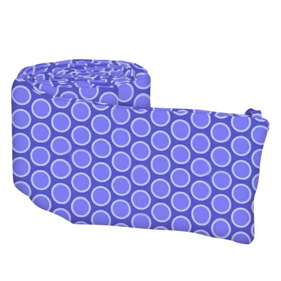 Primary Bubbles Blue Woven