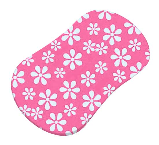 Primary Pink Floral Woven