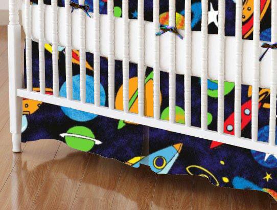 100% Cotton Percale - Prints Crib Skirts
