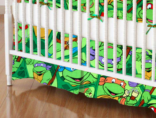 Ninja Turtles Mini Crib Sheets Sheetworld
