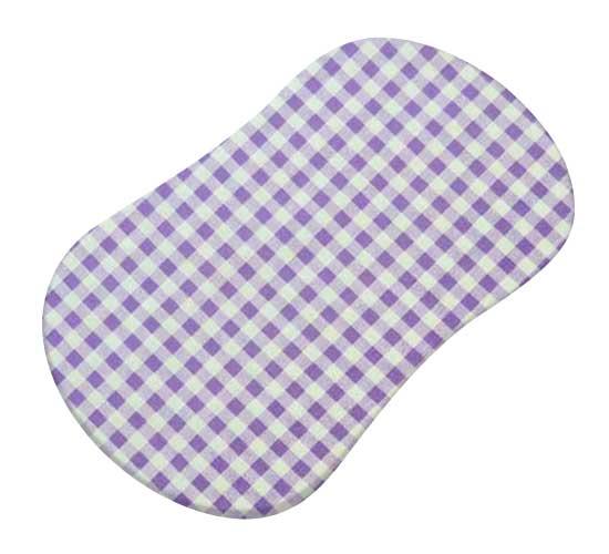 Lavender Gingham Check