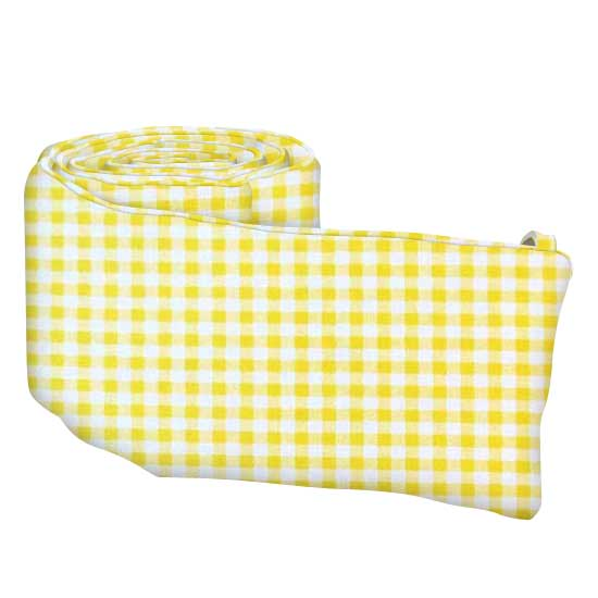 Yellow Gingham Check Crib Toddler Sheets Sheetworld