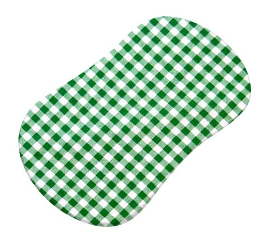 Green Gingham Check