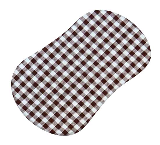Brown Gingham Check
