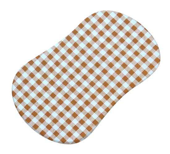 Beige Gingham Check