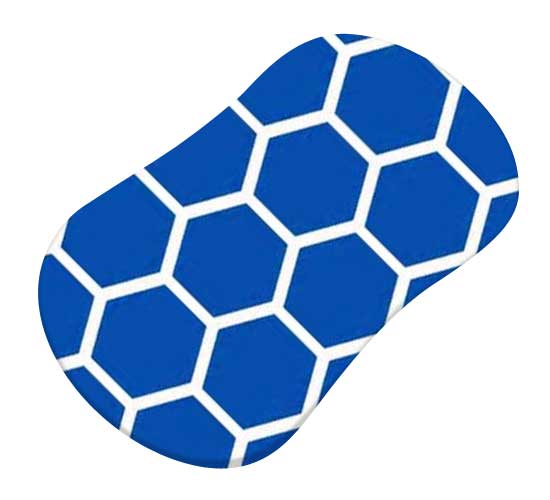 Royal Blue Honeycomb