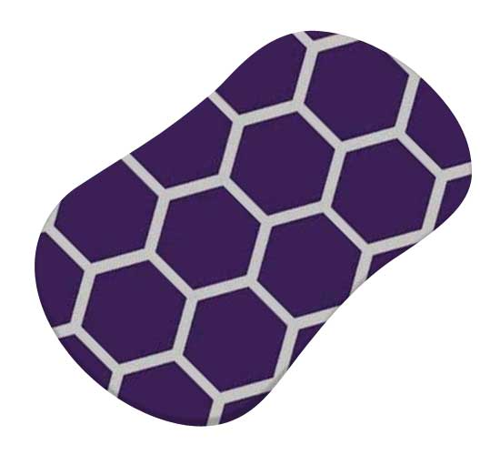 Purple Honeycomb