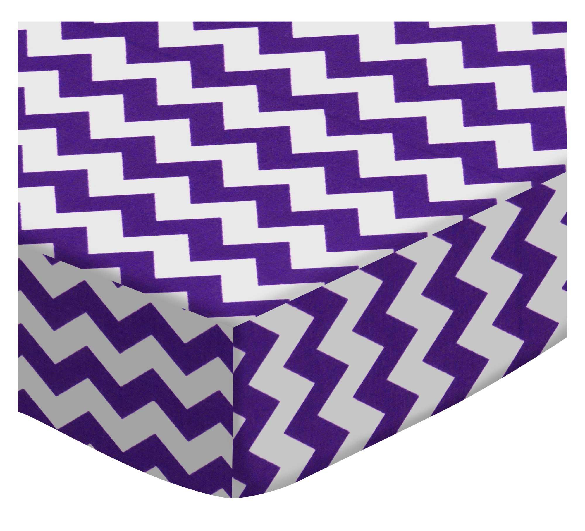Purple Chevron Zigzag