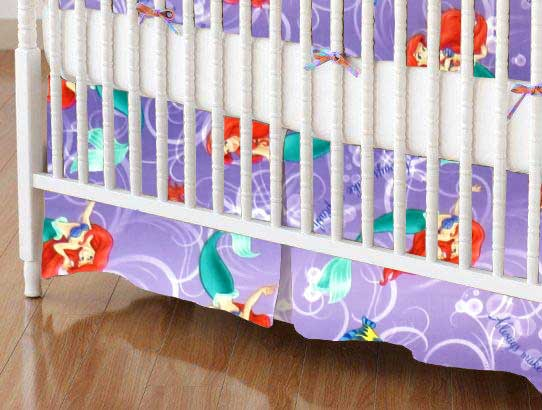 Crib Skirt - Little Mermaid