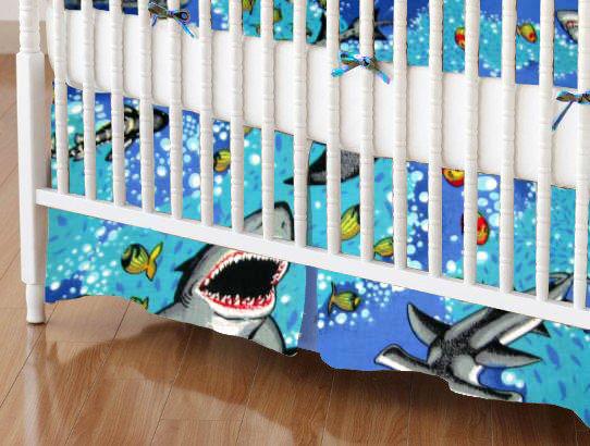 Crib Skirt - Sea Life