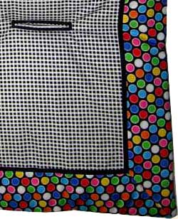 Colorful Bubbles Stroller Liner