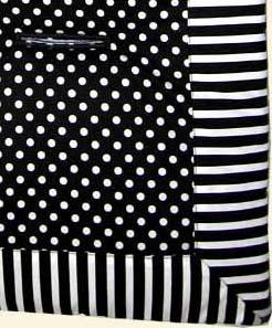 Black & White Zebra Stroller Liner