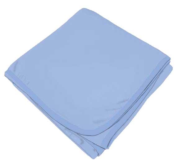 Baby Blue Receiving Blanket
