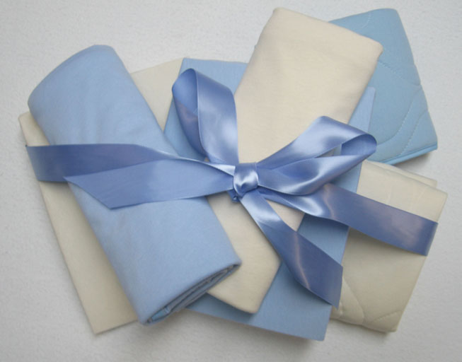 Basic Layette 6 Piece Gift Set - Boys