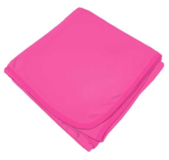 Hot Pink Receiving Blanket