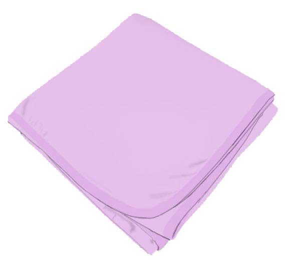 Solid Lavender Receiving Blanket