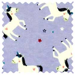 Unicorns Lavender Fabric