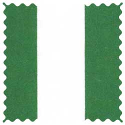 Forest Green Stripe Fabric