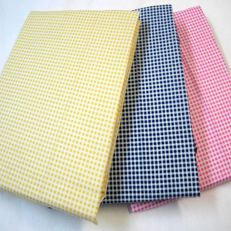 3 Pack Cotton Ginghams Portable Mini Crib Sheet