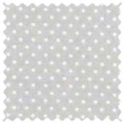 Pindots Grey Woven Fabric
