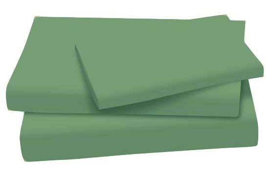 Dark Green Cotton Jersey Knit