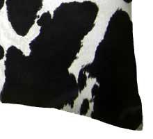 Percale Pillow Case - Black Cow
