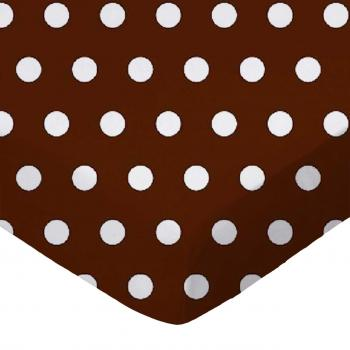 Polka Dots Brown