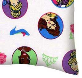 Twin Pillow Case - Princess Strong