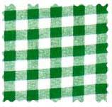 Green Gingham Check Fabric