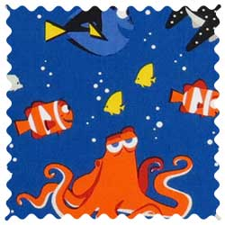 Finding Nemo & Dory Fabric