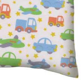 Flannel Pillow Case - Cars Trucks Planes