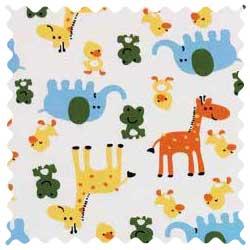 Animal Fun Fabric