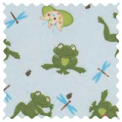 Frogs n Pods Fabric