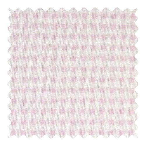 3 Pieces, Each Approx 10 x 70, Pink Gingham