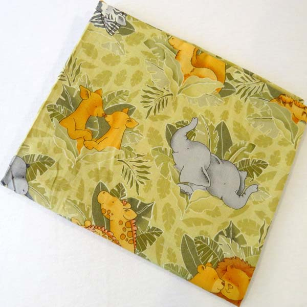 Jungle Animals Cotton Baby Pillow Case