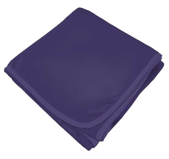 Solid Purple Receiving Blanket