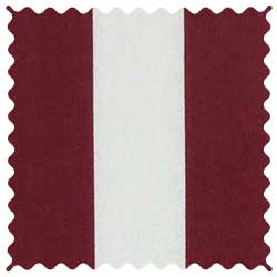 Burgundy Stripe Fabric